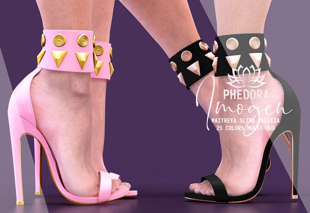 """Phedora. for Kustom9 – """"Imogen"""" heels ♥"""