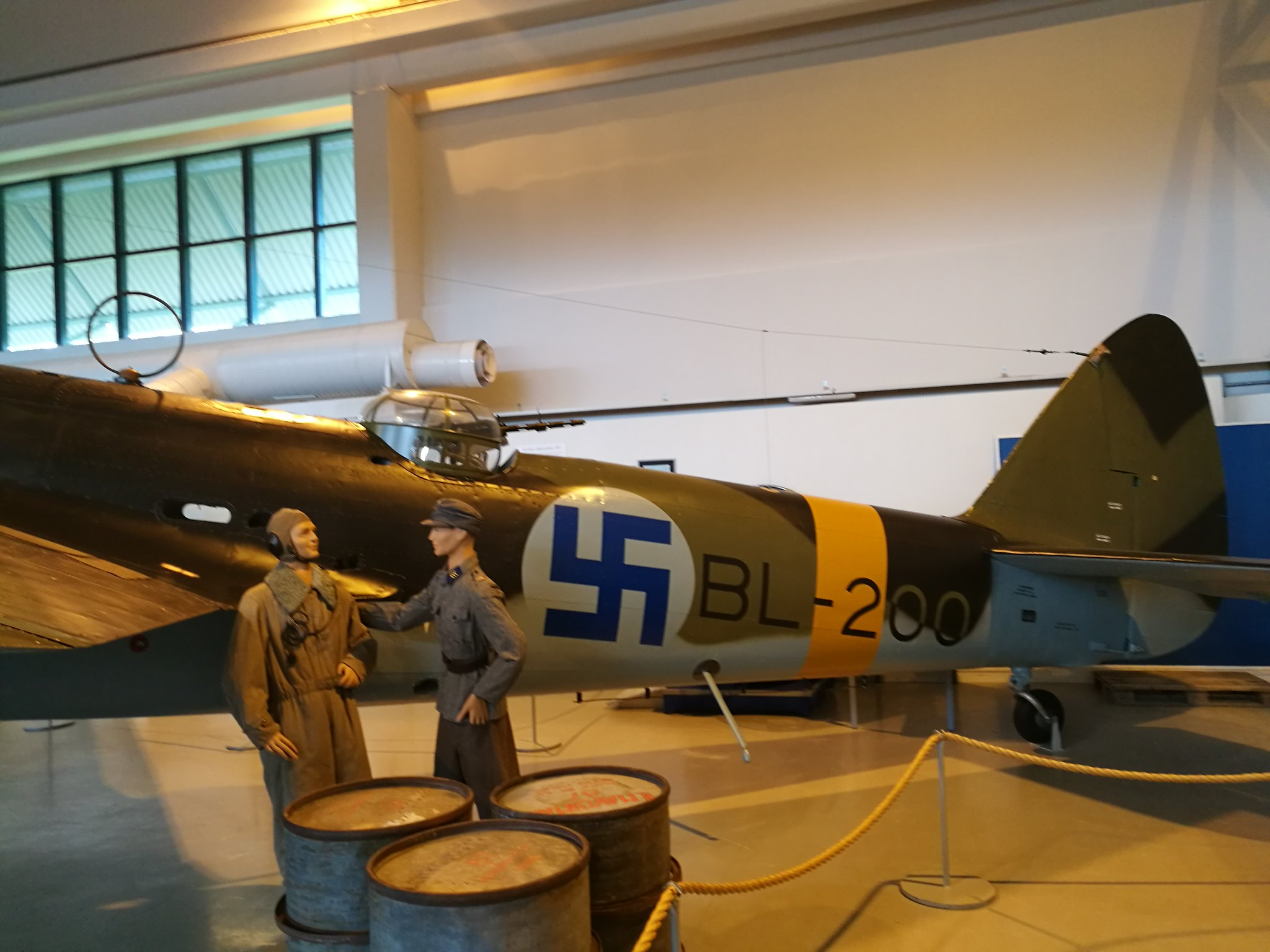 Hemkommen från semester i Finland med utflykt till Finlands Flygvapenmuseum. 48292956736_de621fccb7_k