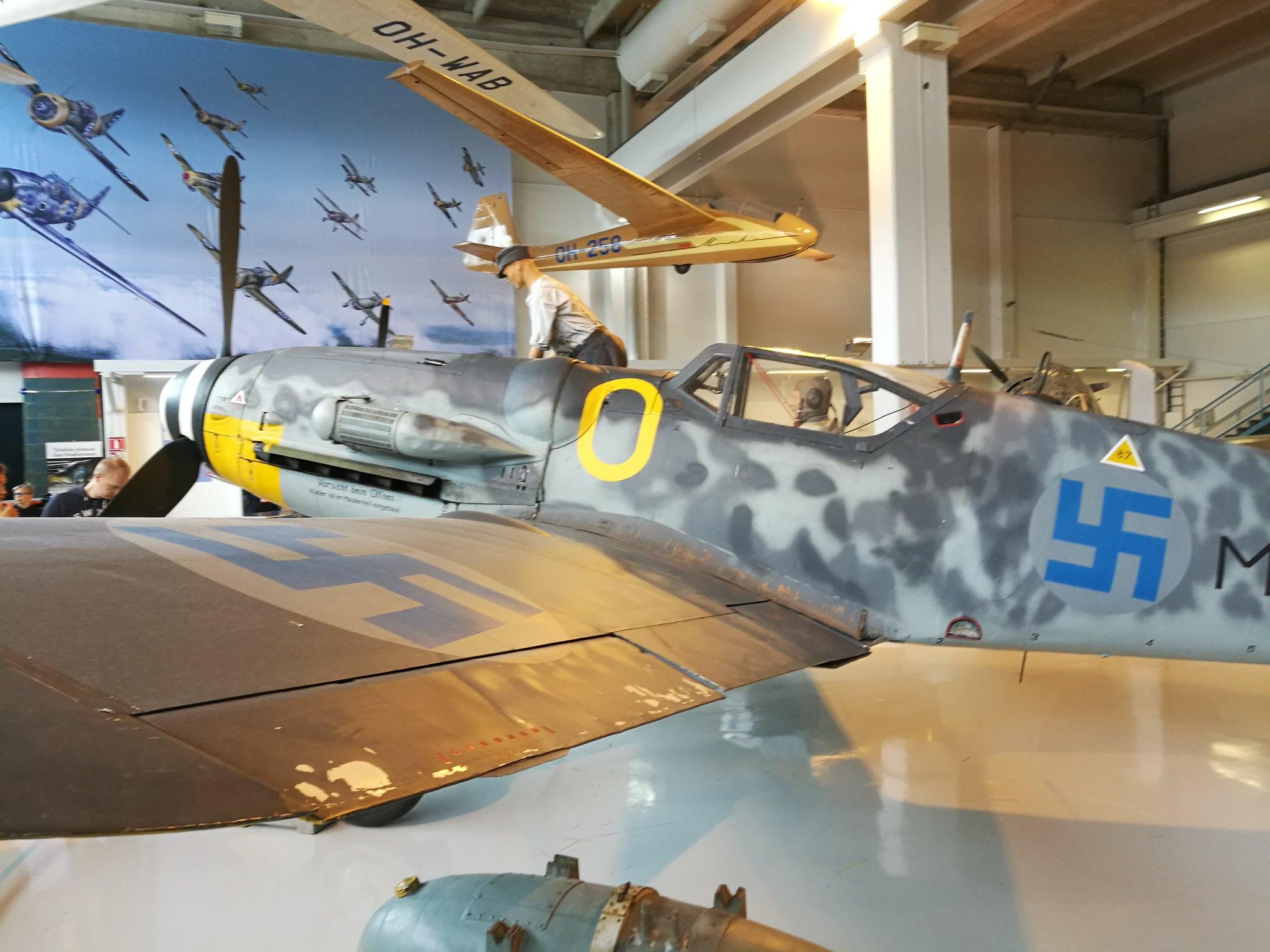 Hemkommen från semester i Finland med utflykt till Finlands Flygvapenmuseum. 48292962981_2443dd34d2_k