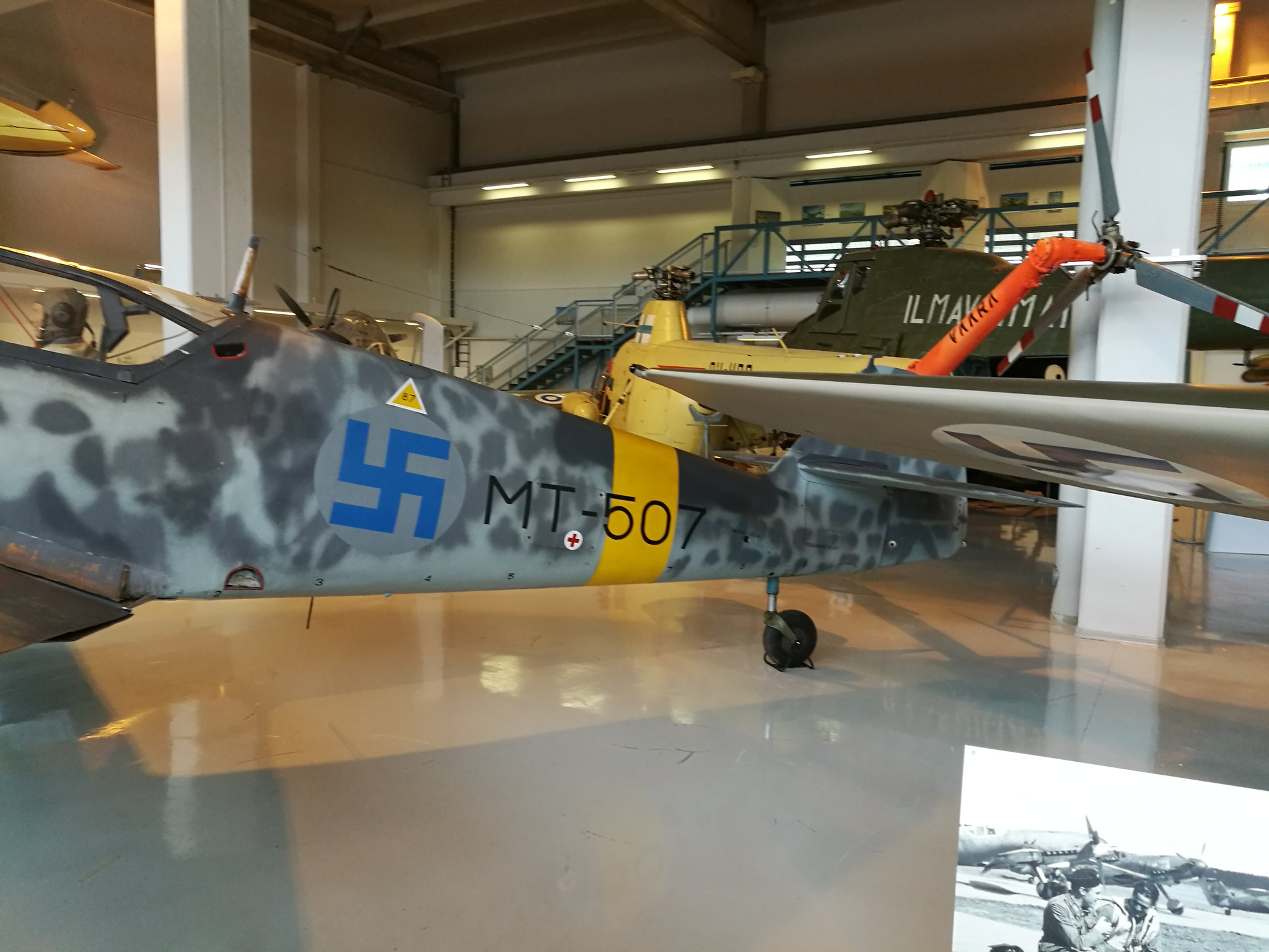 Hemkommen från semester i Finland med utflykt till Finlands Flygvapenmuseum. 48292963151_af2c911f32_k