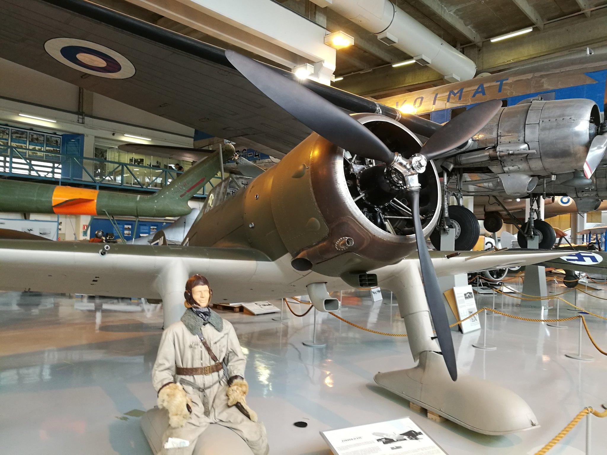 Hemkommen från semester i Finland med utflykt till Finlands Flygvapenmuseum. 48292964211_cf1e735e14_k