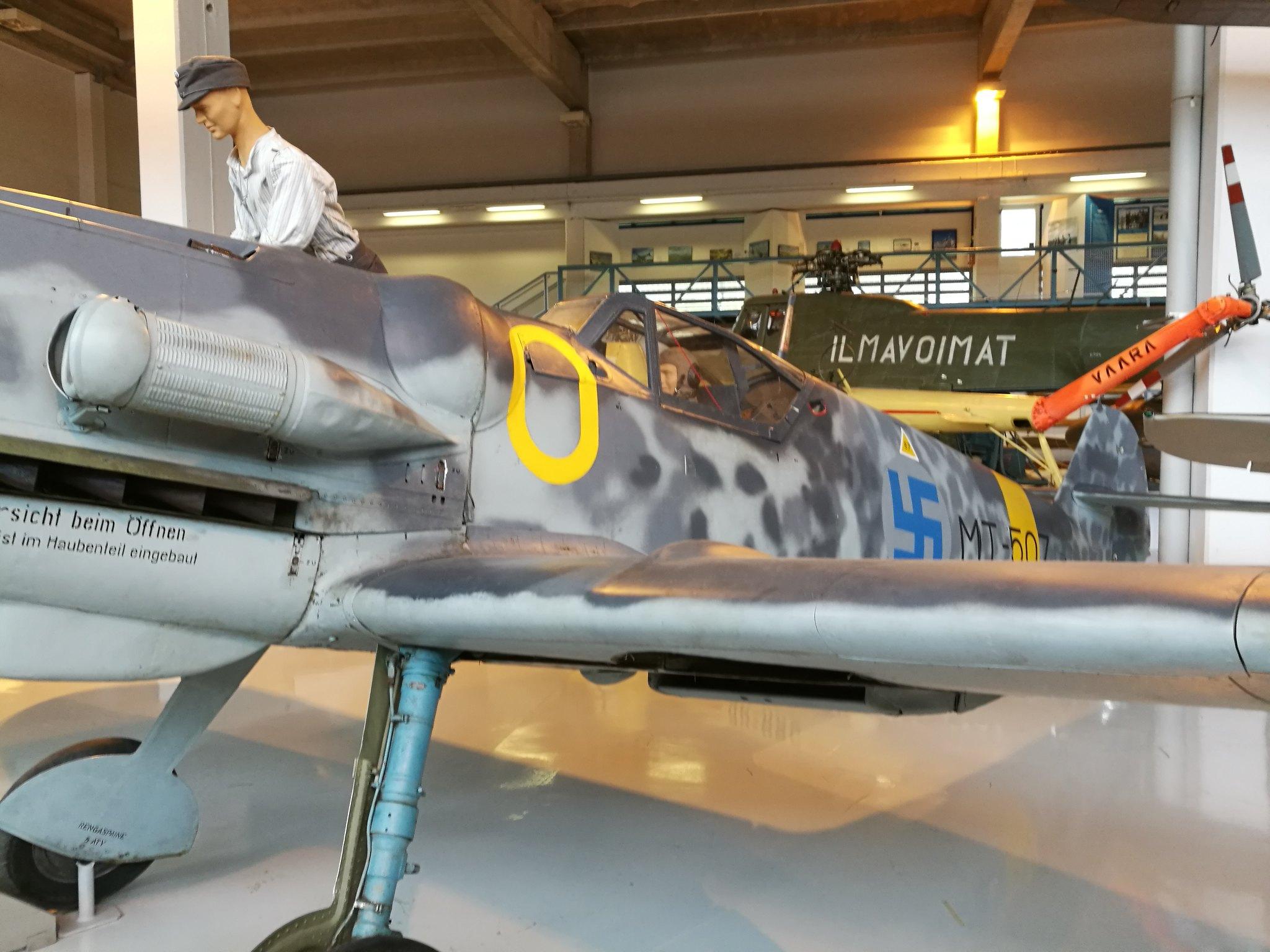Hemkommen från semester i Finland med utflykt till Finlands Flygvapenmuseum. 48292964261_6dee262e63_k