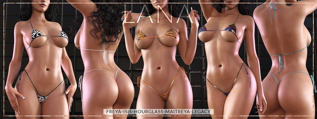 #LANA // The Micro Bikini ♥