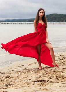 Model Agness Swan
