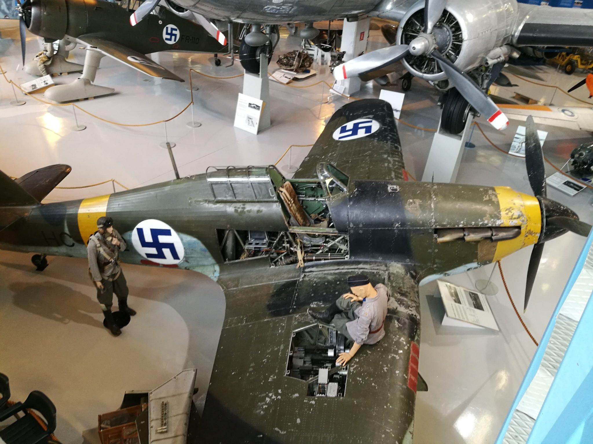 Hemkommen från semester i Finland med utflykt till Finlands Flygvapenmuseum. 48293051992_26e9a51e9f_k