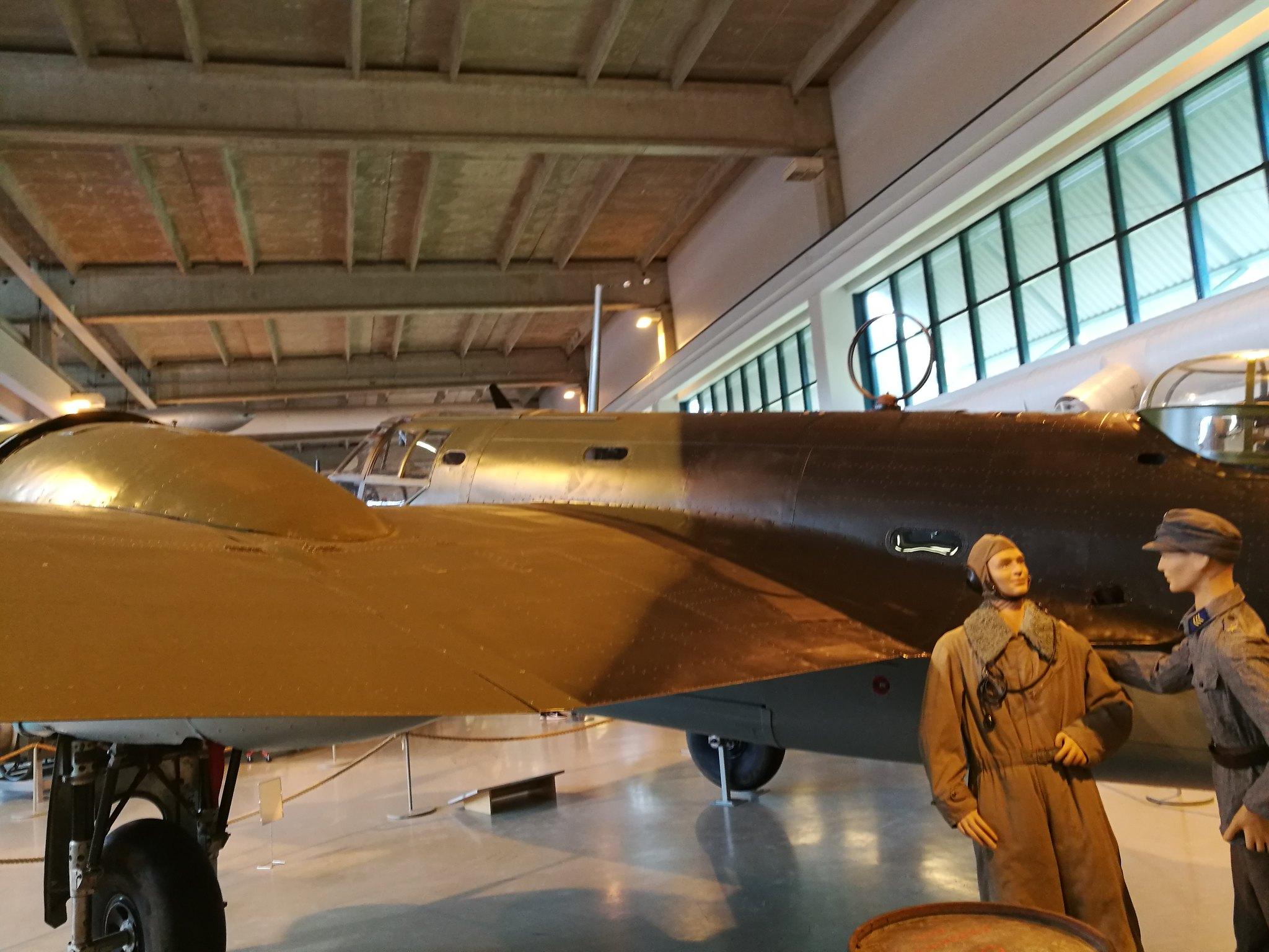 Hemkommen från semester i Finland med utflykt till Finlands Flygvapenmuseum. 48293054952_7bd2ce7769_k