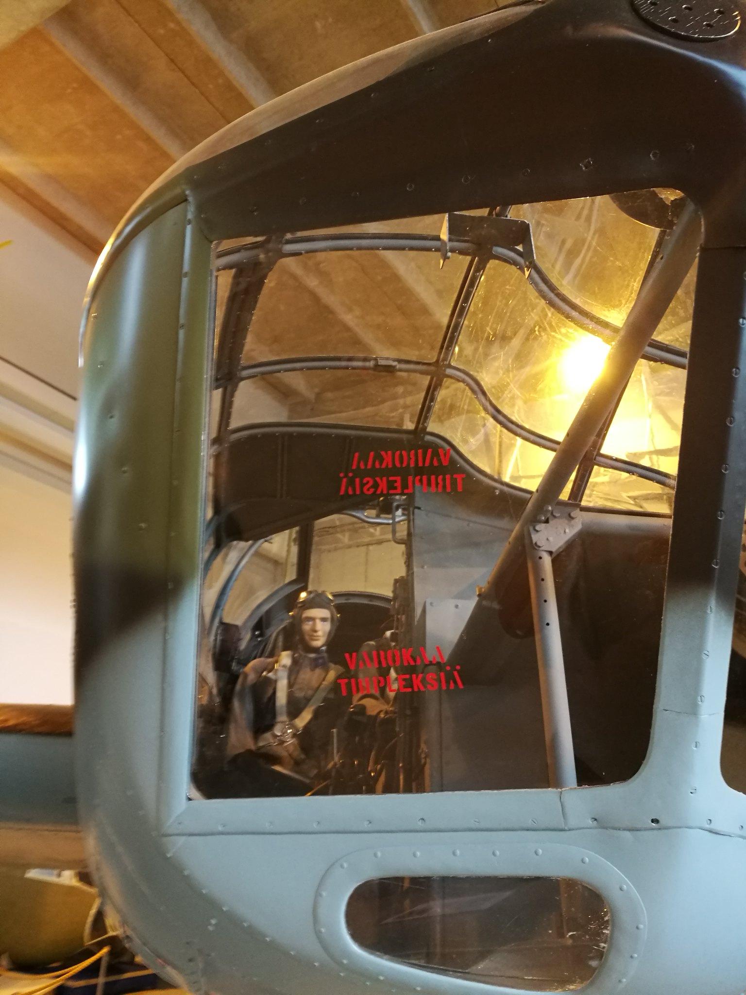 Hemkommen från semester i Finland med utflykt till Finlands Flygvapenmuseum. 48293057397_bcddaf7235_k