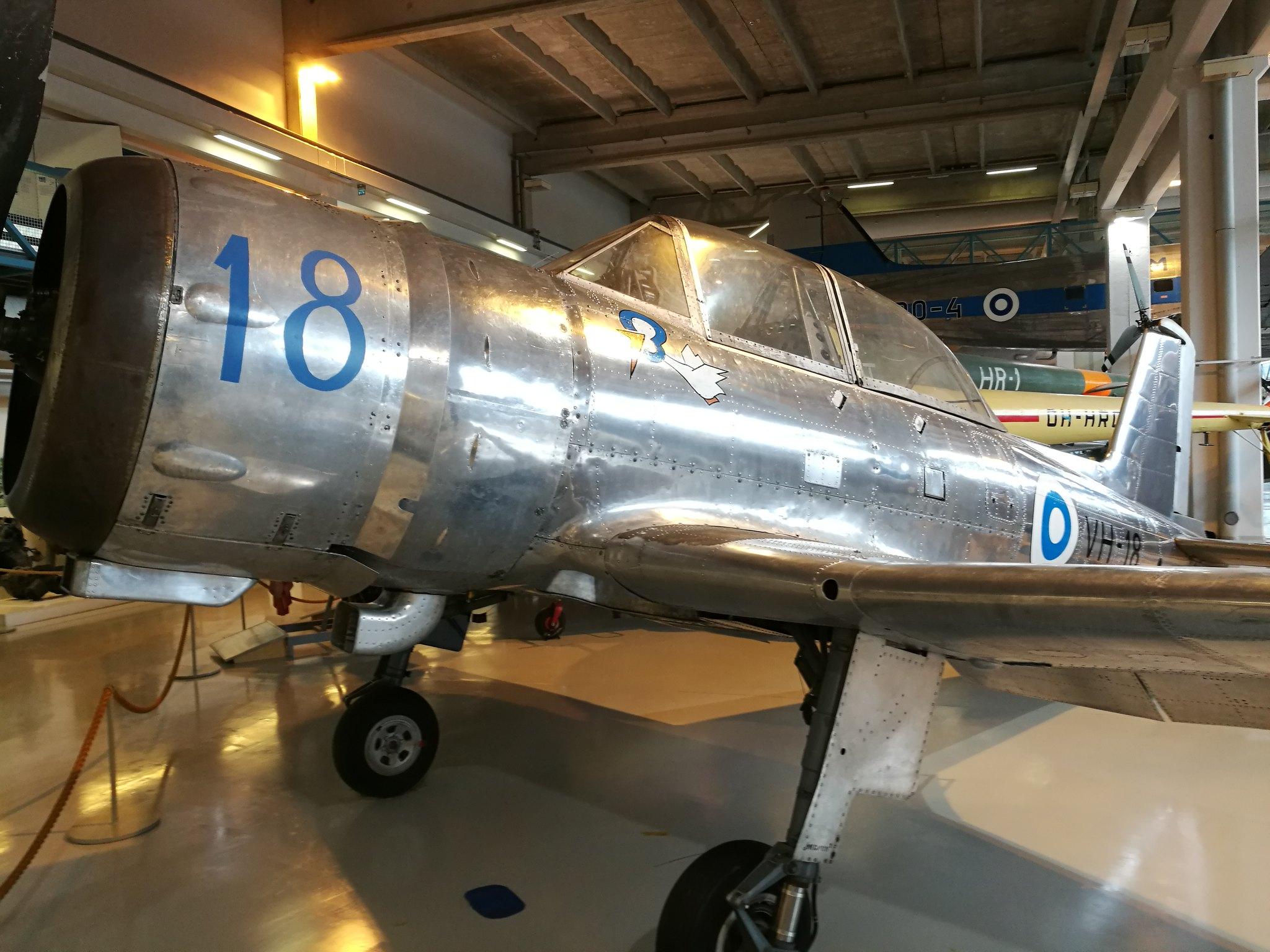 Hemkommen från semester i Finland med utflykt till Finlands Flygvapenmuseum. 48293060462_4f371ef1ab_k