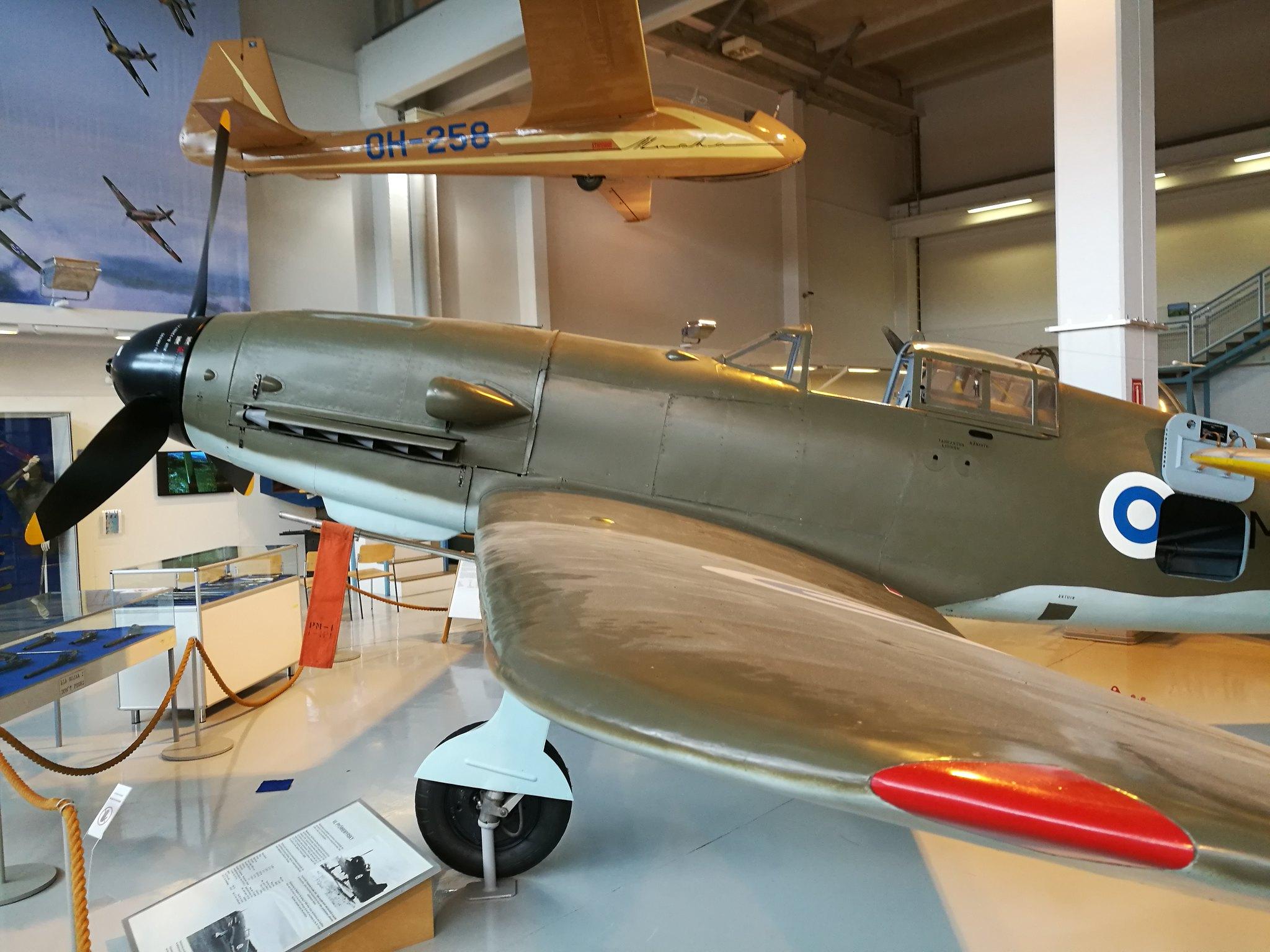 Hemkommen från semester i Finland med utflykt till Finlands Flygvapenmuseum. 48293060602_d5249a980c_k