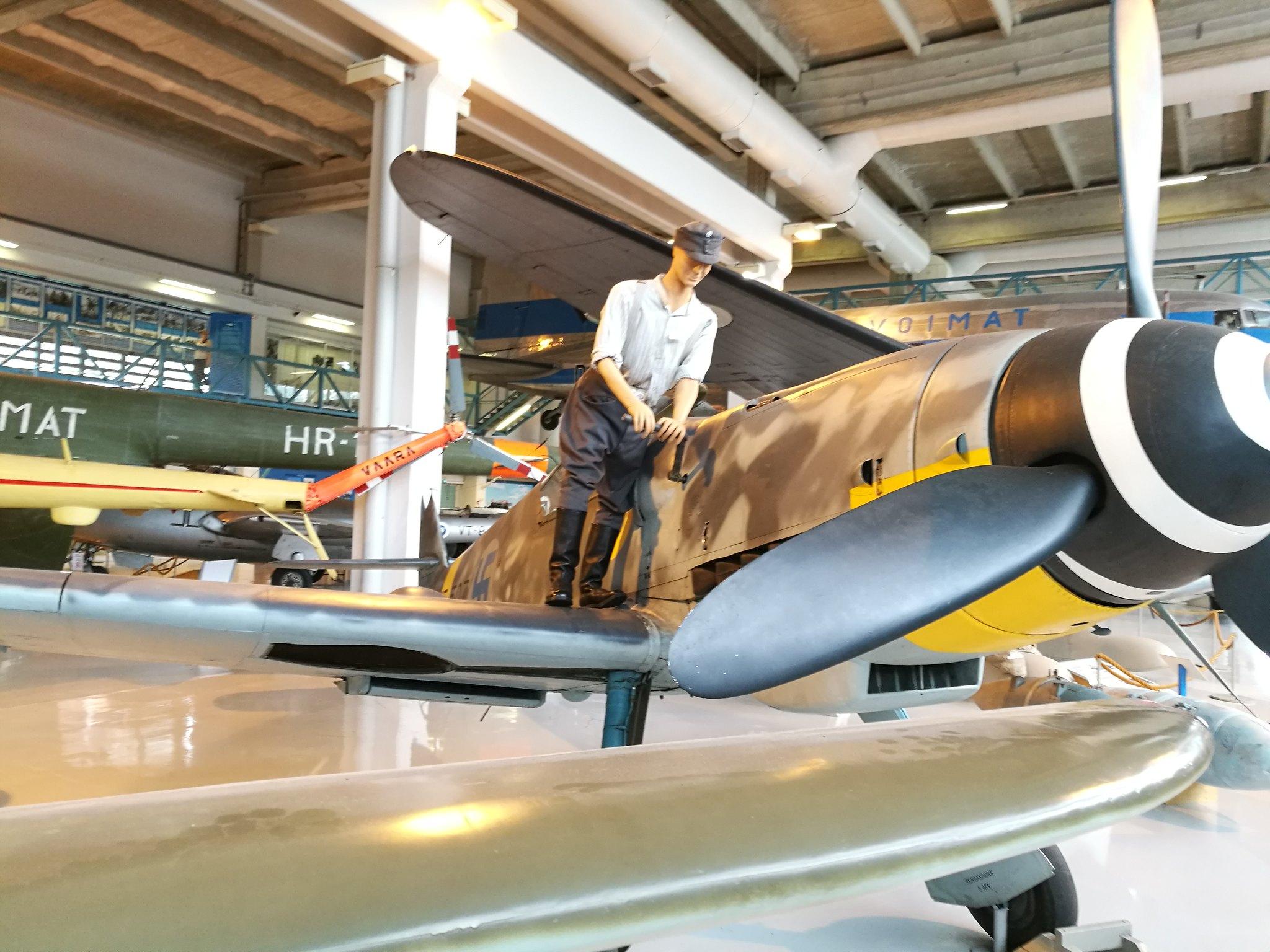 Hemkommen från semester i Finland med utflykt till Finlands Flygvapenmuseum. 48293061102_05a4b84013_k