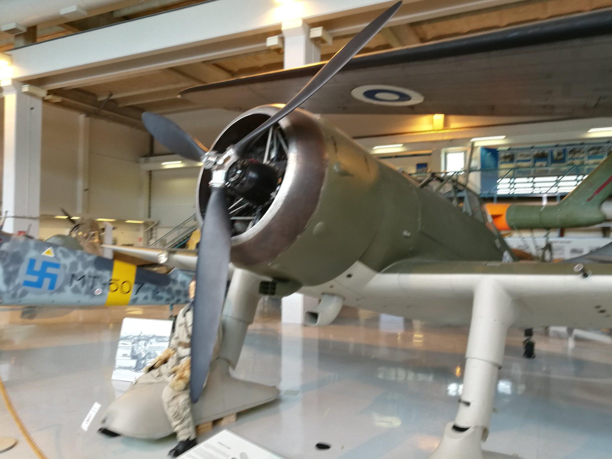 Hemkommen från semester i Finland med utflykt till Finlands Flygvapenmuseum. 48293063647_fbdb5600da_k