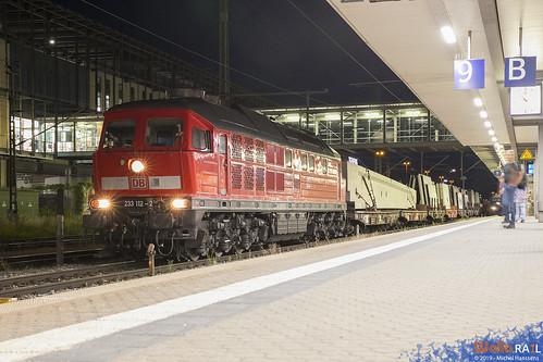 233 112 . DB Cargo . Regensburg Hbf . 28.06.19.