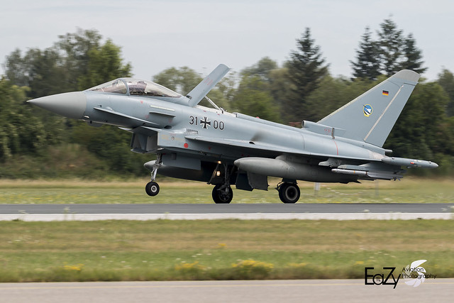 31+00 German Air Force (Luftwaffe) Eurofighter Typhoon