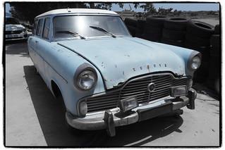 Ford Zephyr ambulance 1956