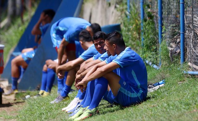 Entreno selección preolímpica de fútbol
