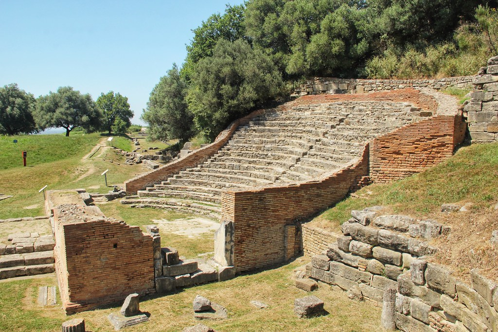 Odeon Theatre, Apollonia, Albania