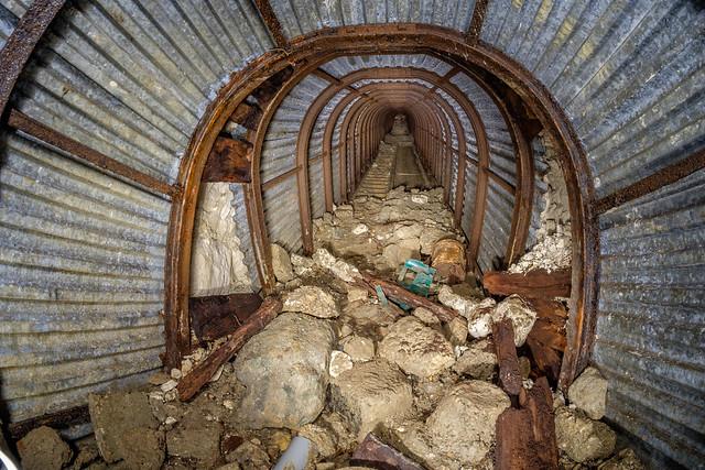 Hougham Battery Deep level shelter