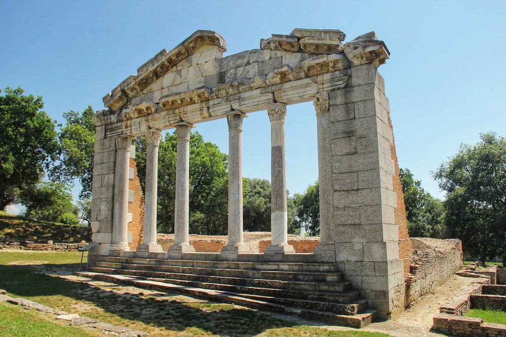The ancient Greek city of Apollonia, Albania