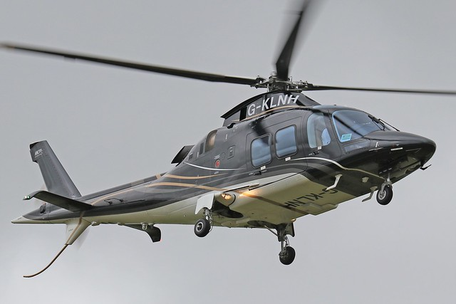 G-KLNH  -  Agusta A109 Grand New  -  Saxon Air  -  EGBT 14-7-19