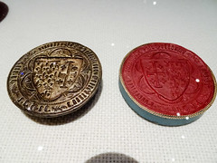 sellos exposicion Edad Media del British Museum en Caixa Forum Madrid 01