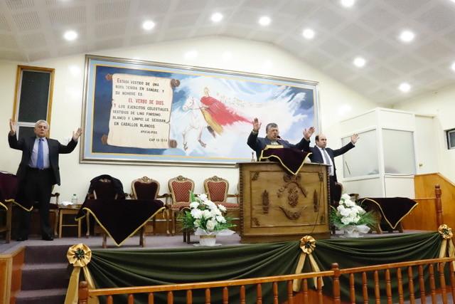 Culto de Acción de Gracias 72º Aniversario del Círculo de Carabineros en Retiro y Asociados en Punta Arenas