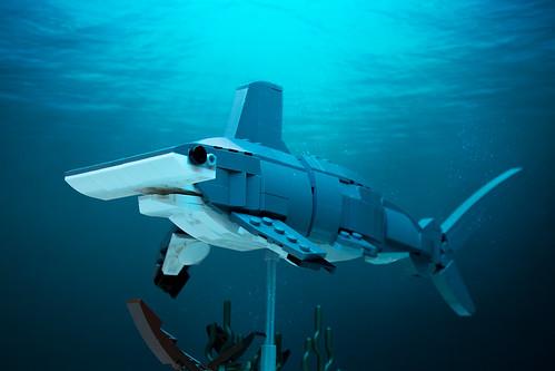 Custom Lego Hammerhead Shark