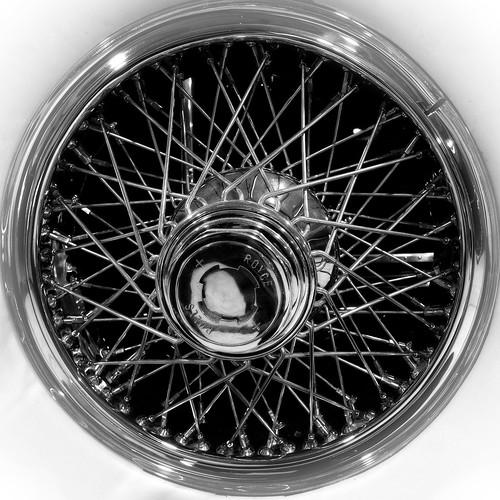 Detail of a Rolls Royce 1928