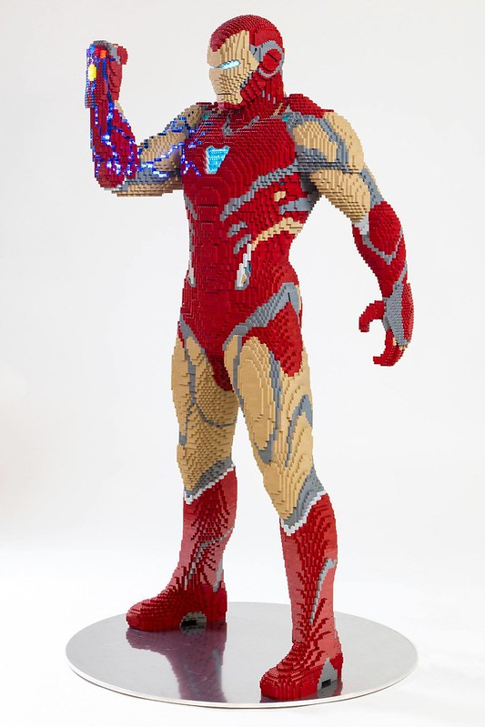 LEGO SDCC Iron Man Big Build