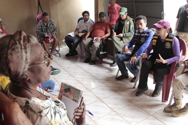 Itacuruba - FPI/PE realiza visitas a comunidades tradicionais