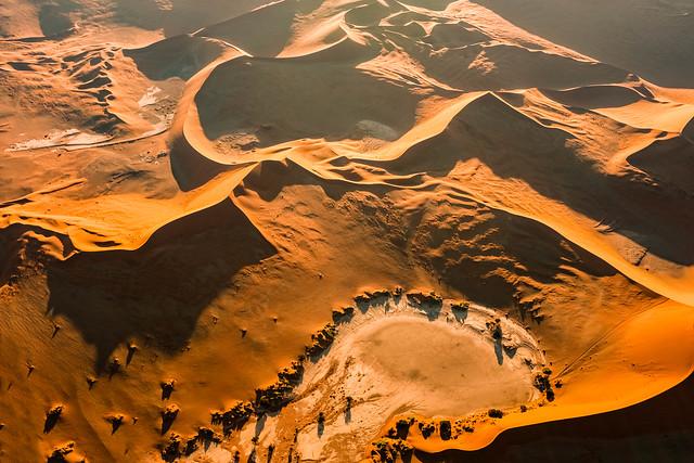 Flug über die Namib II - Flight over the Namib II