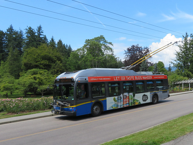 #19 to Metrotown at Stanley Park