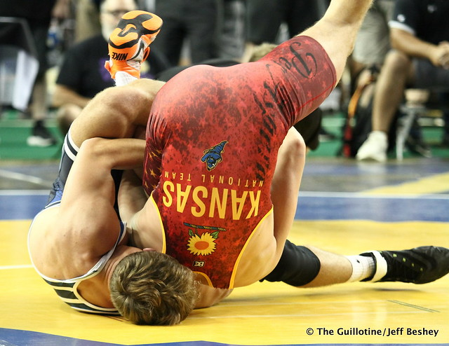 170 pounds - Riley Habisch. 190715AJF0180