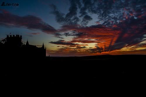 Atardece en el horizonte de Segovia- Sunset in Segovia horizon