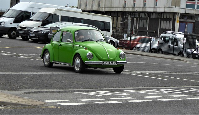 1974 Volkswagen Beetle.