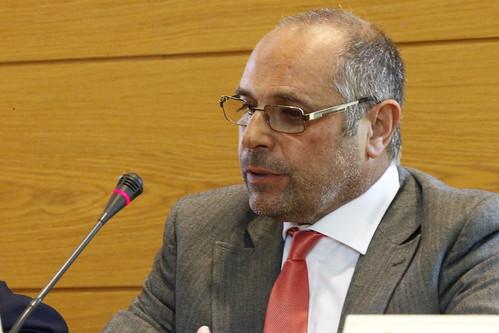El portavoz de Cs en el Ayuntamiento de Agüimes, Vicente Mena, en una imagen de archivo
