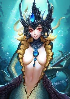 ANIME-PICTURES.NET_-_426563-1215x1718-league+of+legends-nami+(league+of+legends)-gu-ko+citemer-long+hair-single-tall+image | by Benihime469