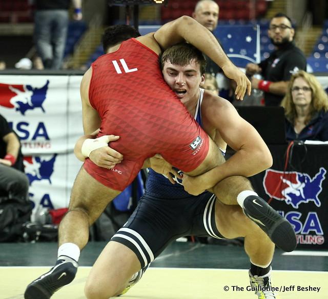 220 pounds - Daniel Striggow. 190715CJF0125