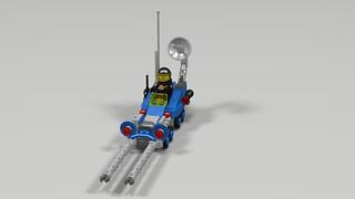 Riding the Lunar Buggy