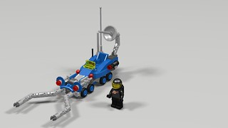 Classic Space Lunar Buggy