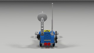 Classic Space Lunar Buggy Back
