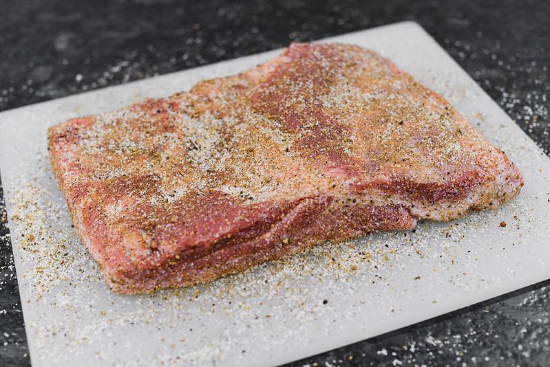 Pastrami Pork Belly