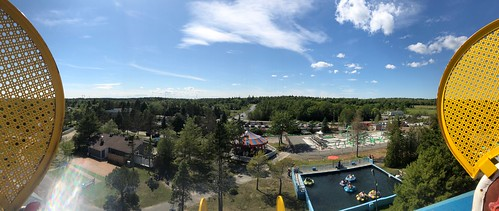 View from Top of Big Ellie Ferris Wheel
