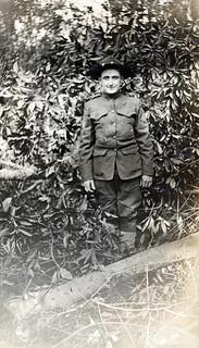 Albert at Camp Sherman