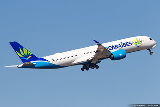 Air Caraïbes Airbus A350-941 cn 327 F-WZNO // F-HTRE