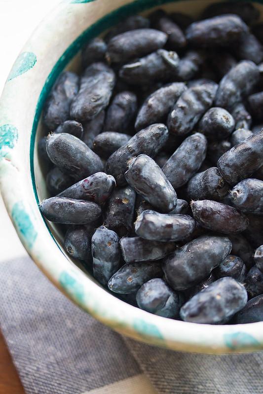 Bowl of Haskap Berries