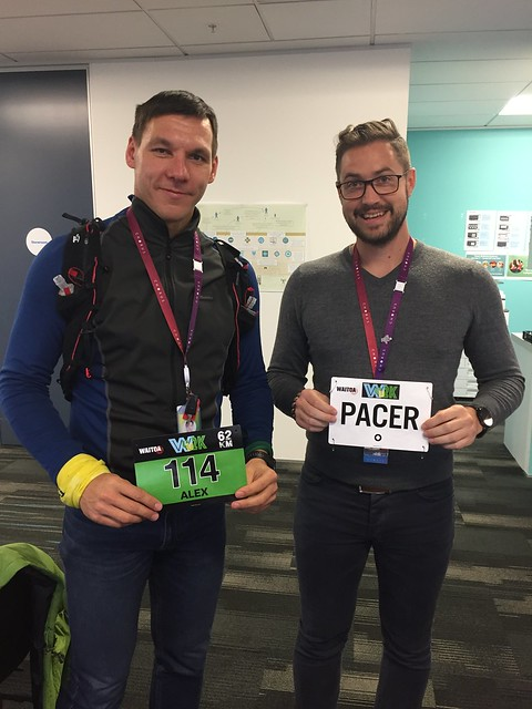 Awesome pacer - check!