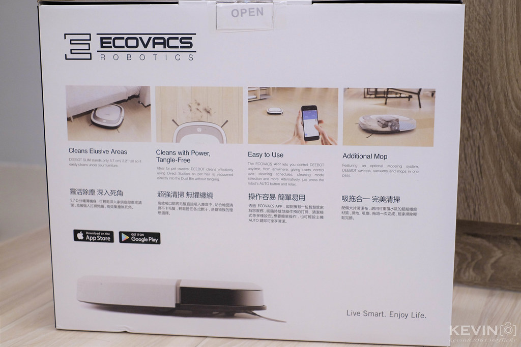 [K]將時間留給家人吧!科沃斯Ecovacs Slim2掃地機心得