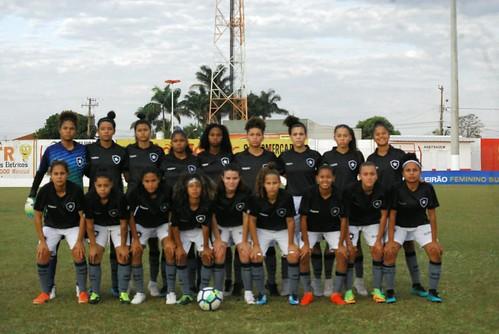 Ponte Preta 1 x 1 Botafogo - Campeonato BR Feminino Sub-18