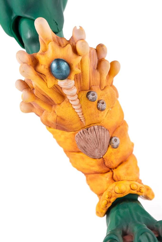 這款Mer-Man 的殺氣可不是在開玩笑! MONDO《太空超人》魚人 Mer-Man 1/6 比例人偶作品 一般版 / MONDO限定版