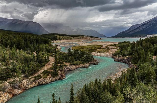Cline River View - Alberta, Canada